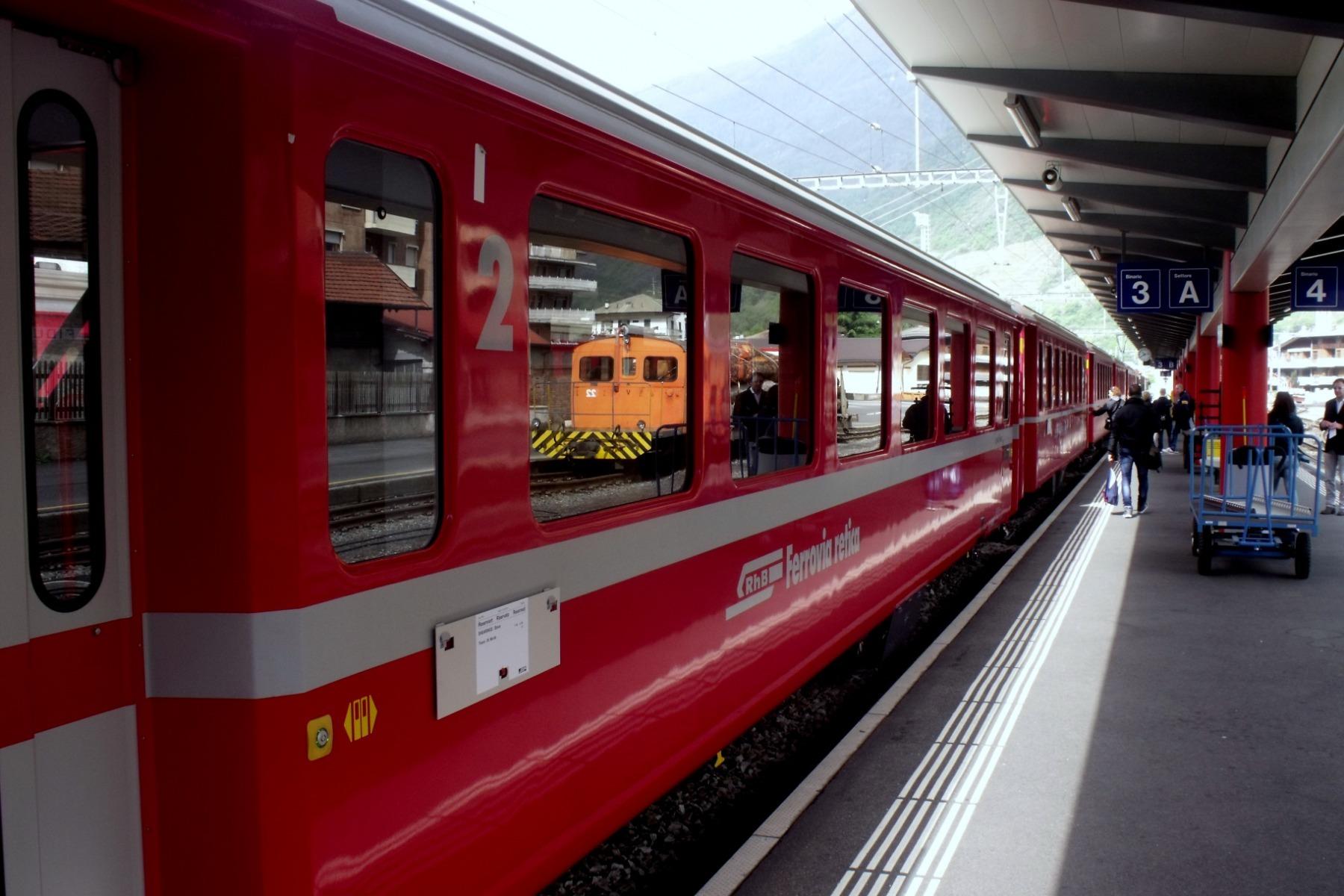 Un incantevole percorso con il Trenino del Bernina Autore articolo
