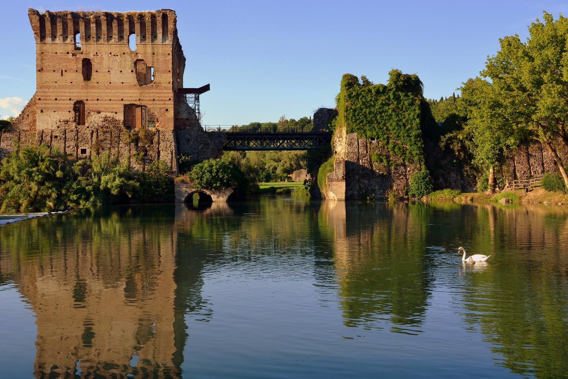 La bellissima ciclabile Peschiera-Mantova e i suoi paesaggi