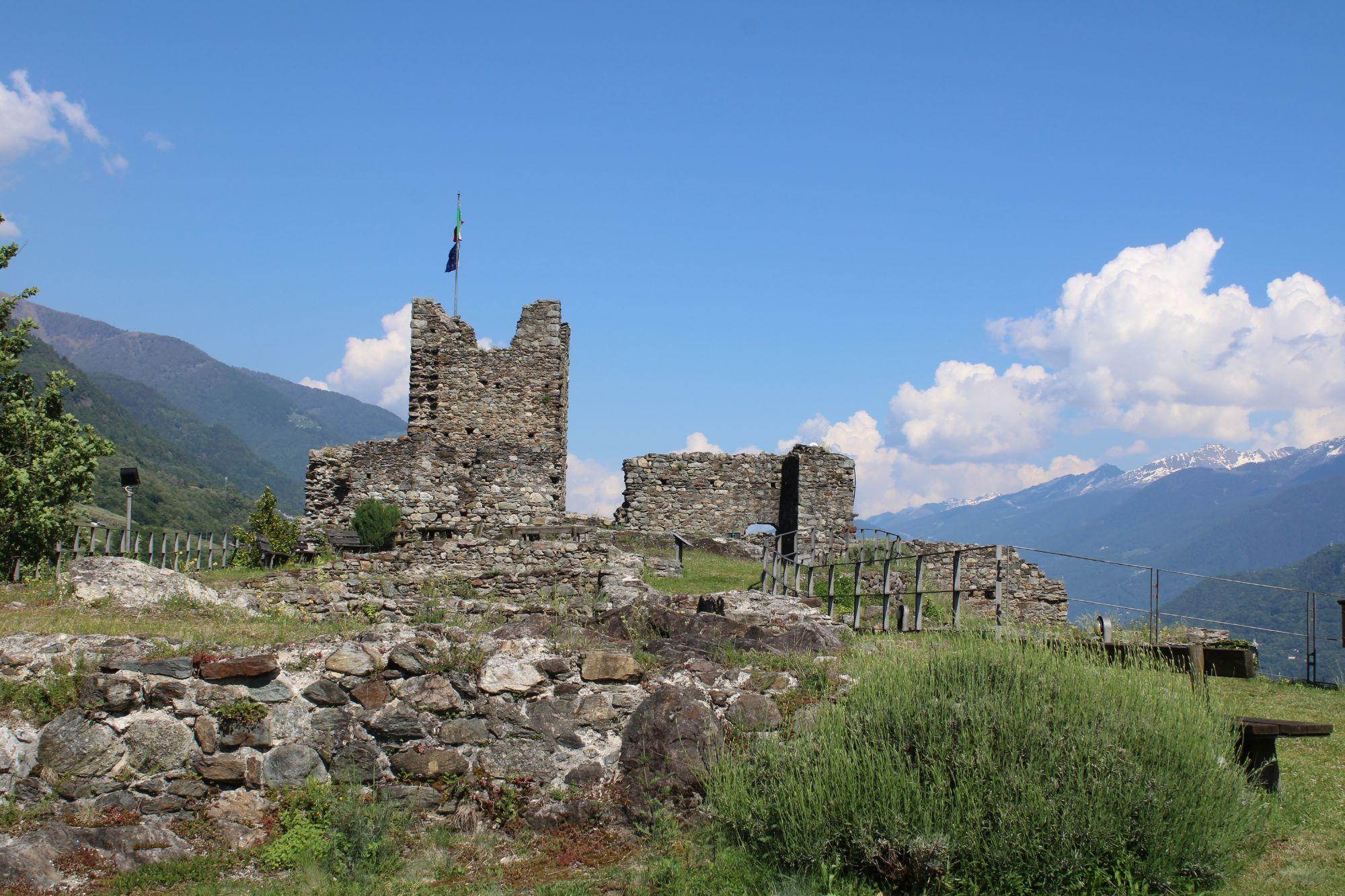 Il meraviglioso Castel Grumello...