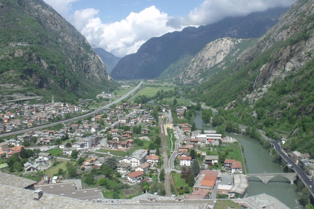 Paesi e castelli della Valle d'Aosta