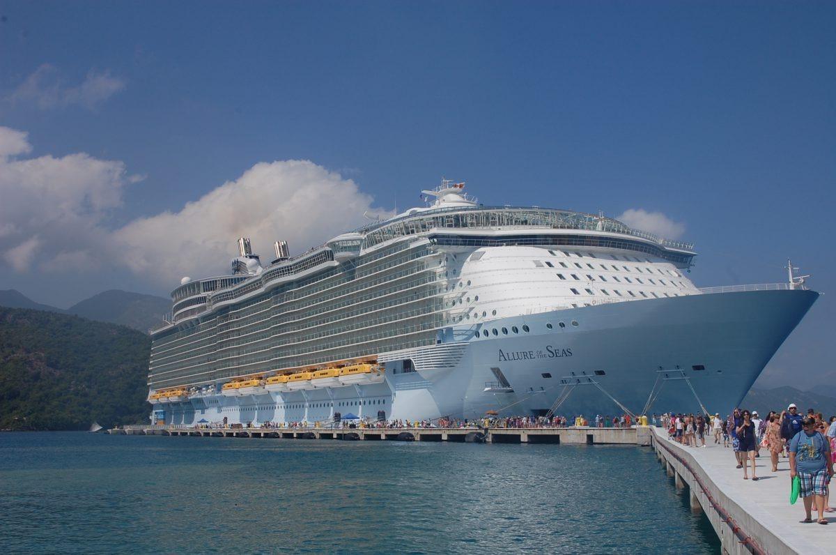 Una spettacolare Allure of the Seas
