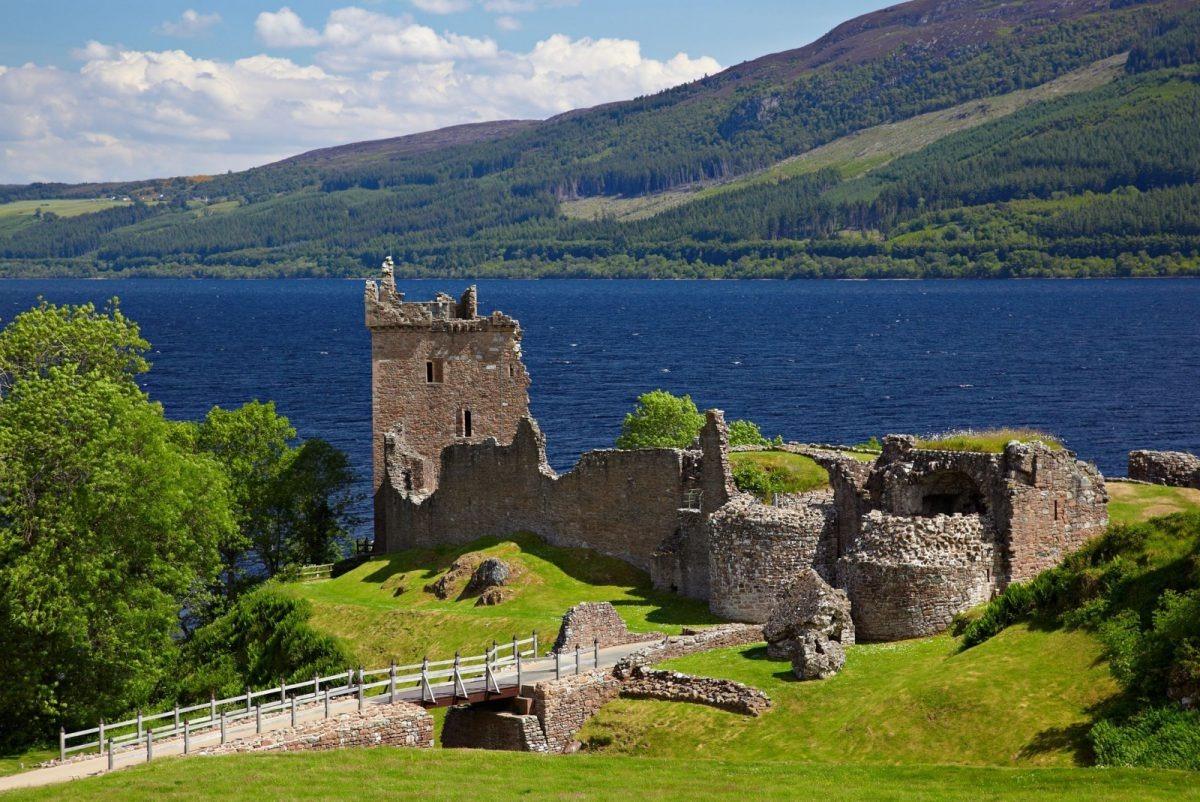 Il verde della Scozia